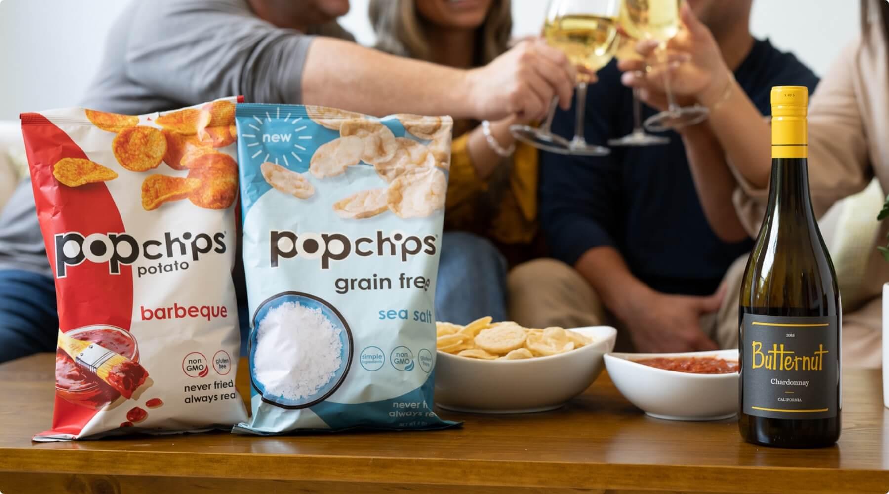 Butternut Wine & PopChip Pairings!