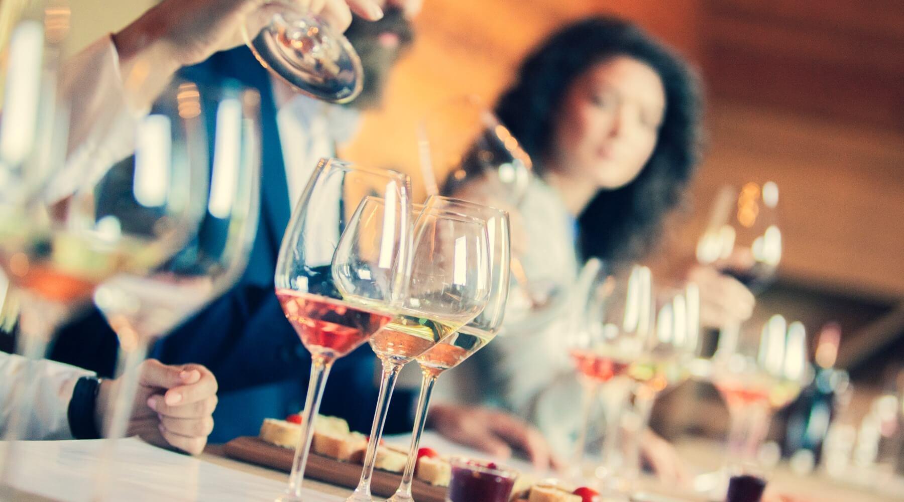 Wine Tasting = Entertaining