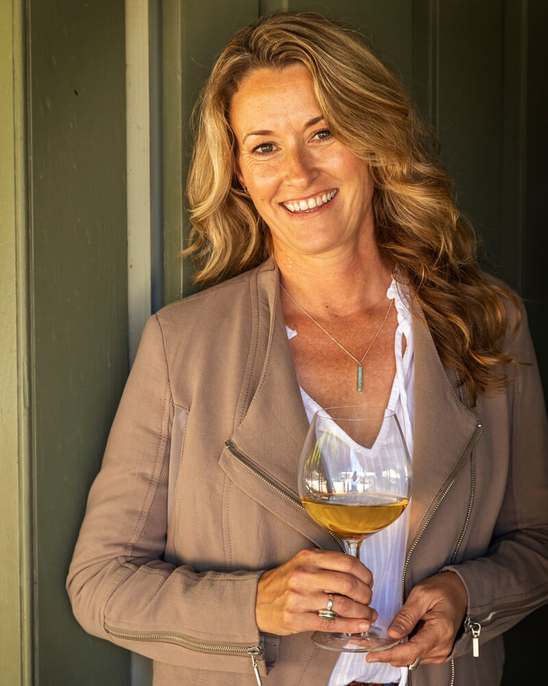 Winemaker Roxie Ward